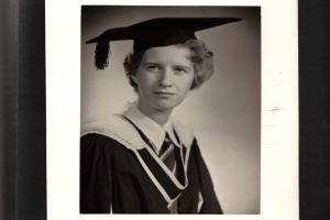 Grandmother and manchester english graduate Barbara Bailey