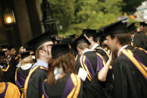 University of Manchester graduation day