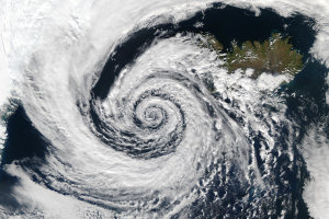 The eye of the storm (credit NASA Rapid Response)