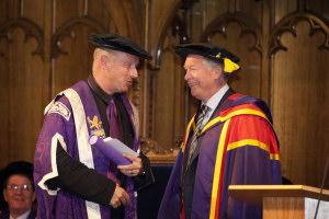 Sir Alex Ferguson CBE, Doctor of Laws
