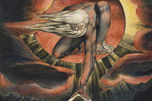 Blake's The Ancient of Days -  Whitworth Art Gallery, University of Manchester