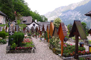 The cemetery in Hallstatt (Pic by Neus Martinez-Abadias)