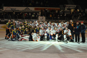 Manchester Metros meet their opponents in the Czech Republic