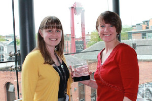 Natalie Ireland (MSF Director) and Kate Dack (Nowgen Public Programmes Manager )