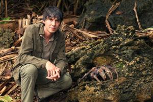 Brian Cox, Robber Crab, image copyright BBC
