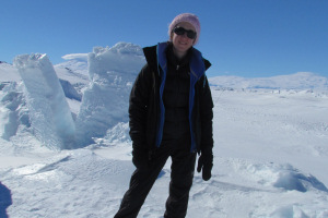 Dr Katherine Joy's research takes her to extreme locations like Antarctica