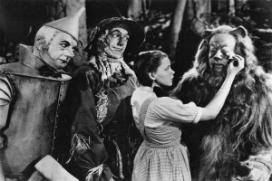 Publicity photo for the Wizard of Oz