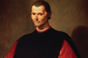 Portrait of Machiavelli