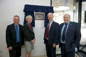Minister for Universities and Science David Willetts opened the new SKA HQ