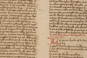Newly discovered Rylands manuscript of Des cas des nobles hommes et femmes