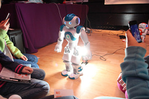 The iCub humanoid robot will be one of the features at Animation 13