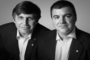 Andre Geim and Kostya Novoselov have been awarded Royal Society prizes