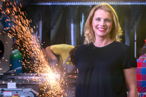 Professor Danielle George To Make Sparks Fly In 2014