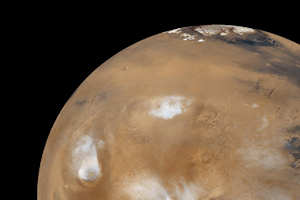 Is there life on Mars? Image credit : NASA/JPL/MSSS