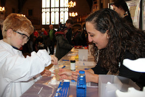 Children experience hands on science