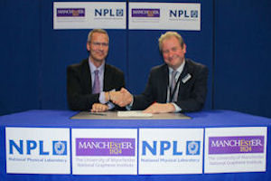 James Baker (NGI) and Rhys Lewis (NPL) sign partnership agreement