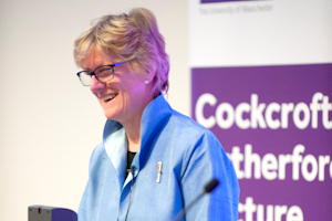 Dame Sally Davies delivers the lecture
