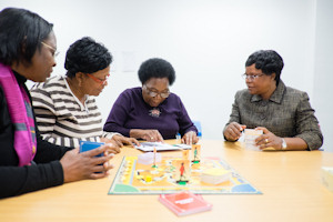 MIdwives playing the new game