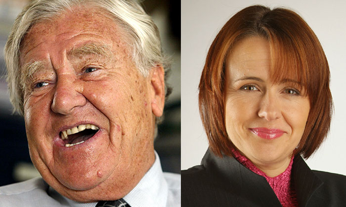 Alf Morris and Tanni Grey-Thompson