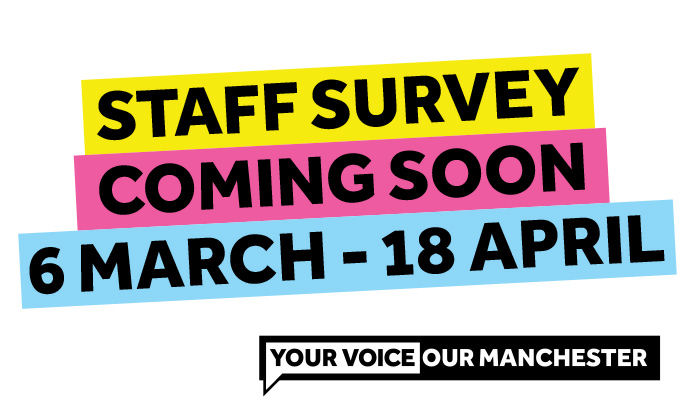 Staff Survey 2017 coming soon