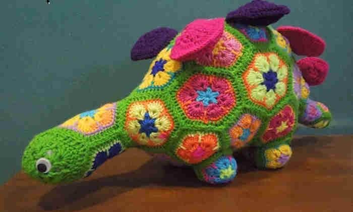 Dinosaur raffle prize
