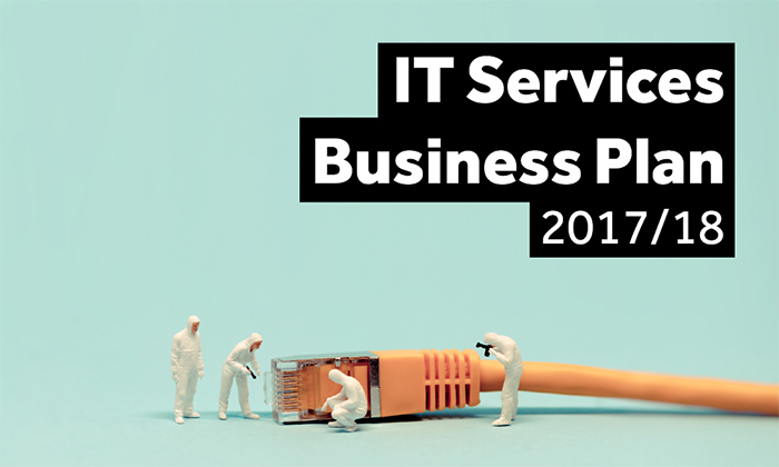 Cover of IT Business Plan 2017/18