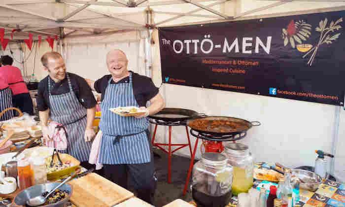 Market trader Otto-men