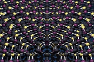 Artist impression of graphene