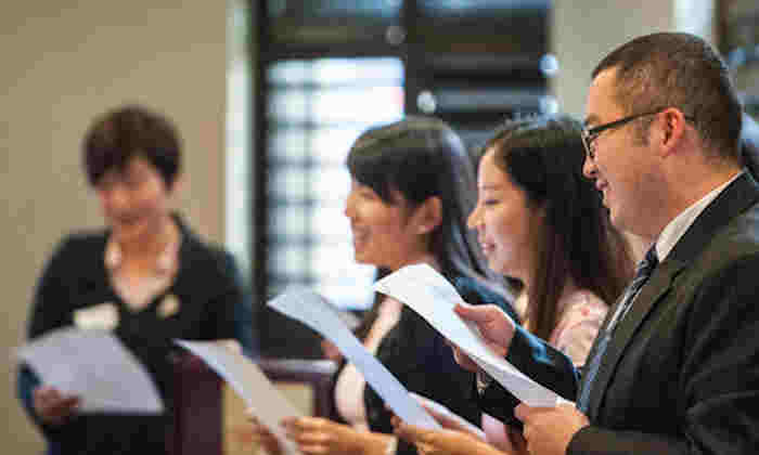 Manchester Confucius Institute choir