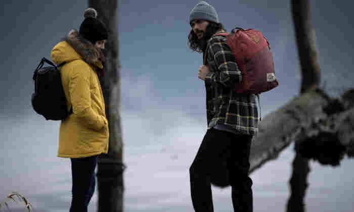 Couple enjoying the outdoors