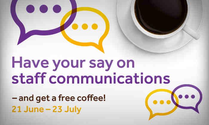Staff communications survey