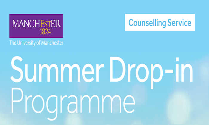 Counselling Service summer drop-in programme