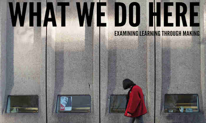 What We Do Here promo banner
