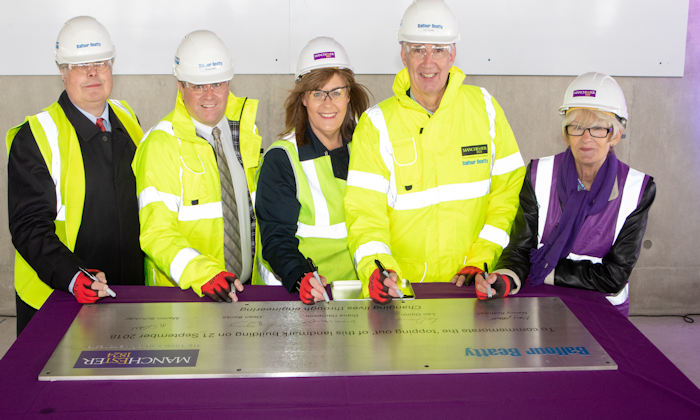 MECD topping out
