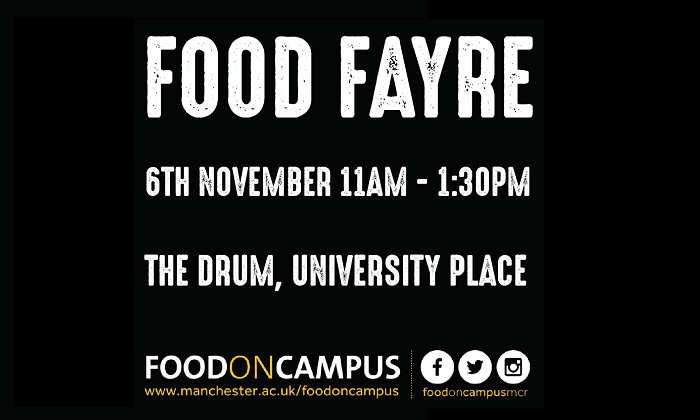 Food fair poster