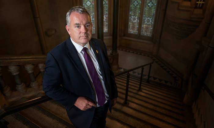 Patrick Hackett, Registrar, Secretary and Chief Operating Officer
