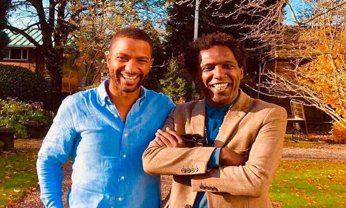 Lemn Sissay and Sean Fletcher