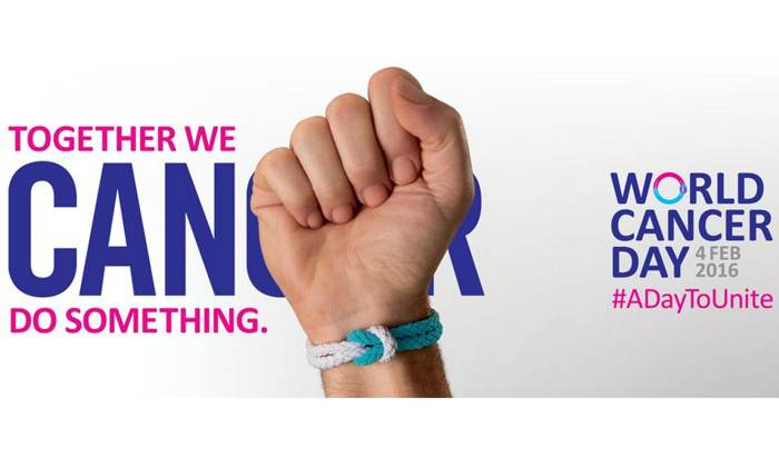 World Cancer Day logo