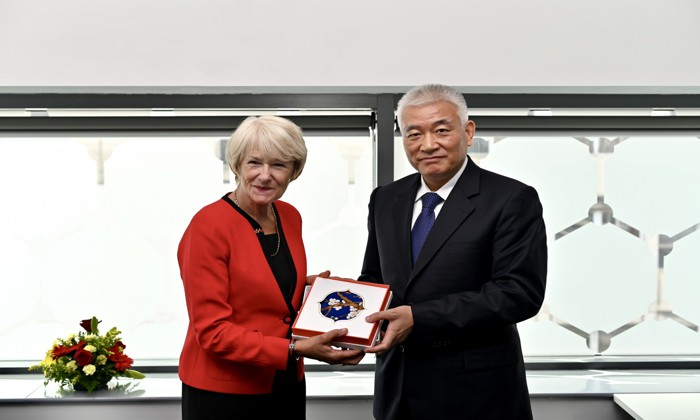 Chinese minister visit