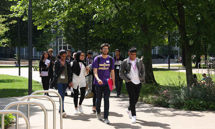 University of Manchester students