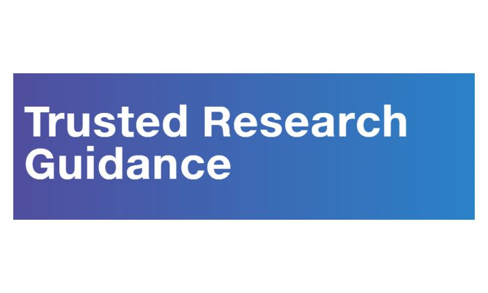 Government guidance on Trusted Research