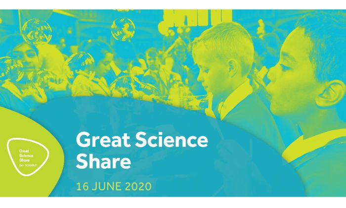 Encourage your children to take part in the 2020 Great Science Share