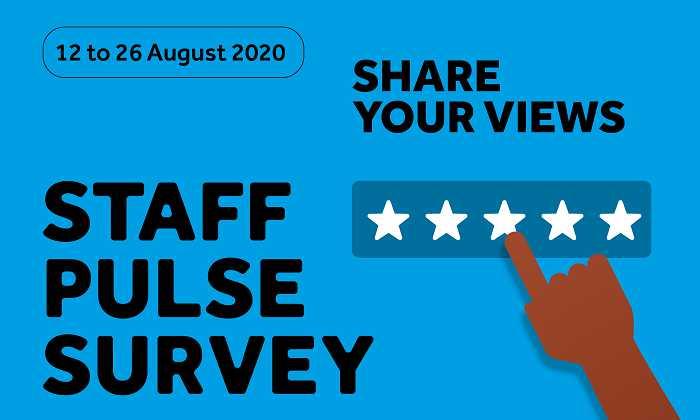 Staff pulse survey 2020