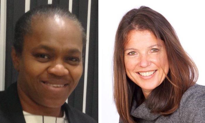 Banji Adewumi and Adele MacKinlay
