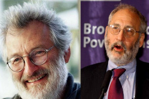 Professors Sir John Sulston and Joseph Stiglitz