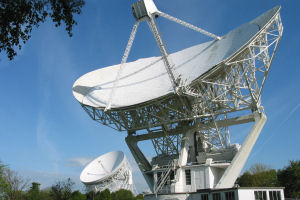 The Lovell and Mark II Telescopes at Jodrell Bank Observatory