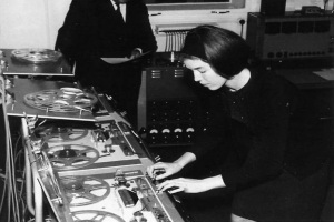 Delia Derbyshire with permission from the BBC